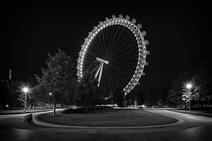 London Eye at Night 1