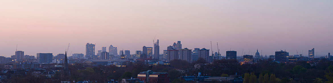 Photograph of London Skyline