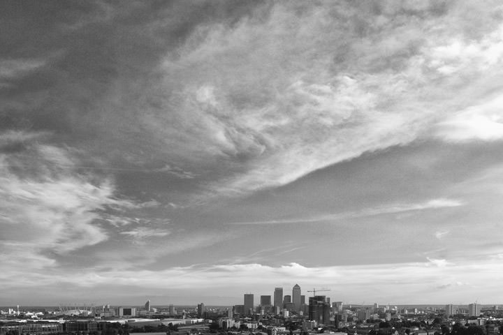 Photograph of London skyline 2