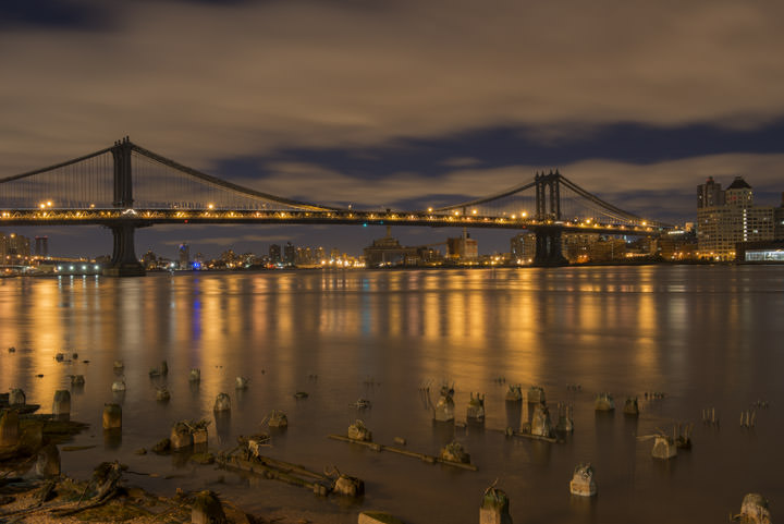 Photograph of Manhattan Bridge 1