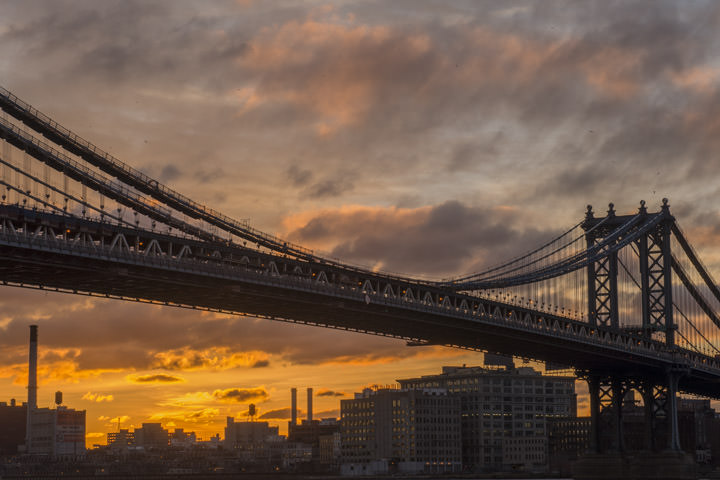 Photograph of Manhattan Bridge 13