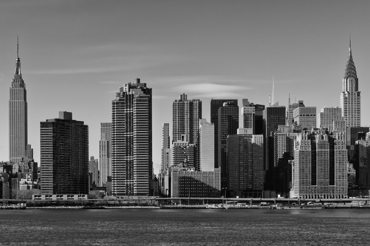 Photograph of Manhattan Cityscape 1