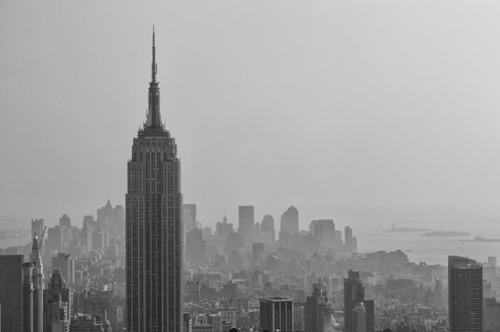 Photograph of Manhattan Skyline 1