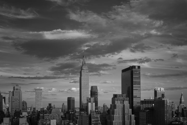Photograph of Manhattan Skyline 10