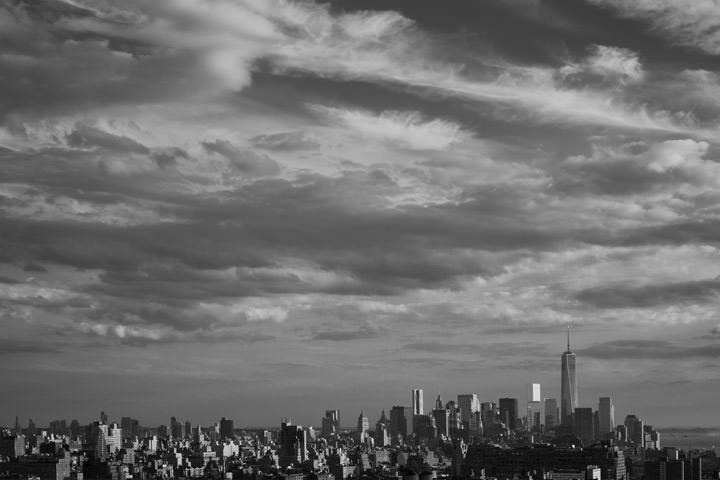 Photograph of Manhattan Skyline 11
