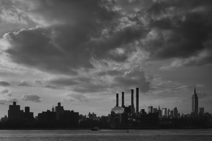 Photograph of Manhattan Skyline 12