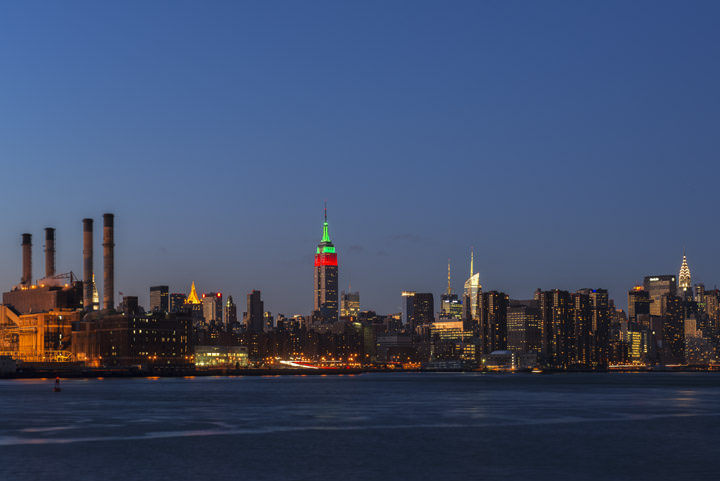 Photograph of Manhattan Skyline 2
