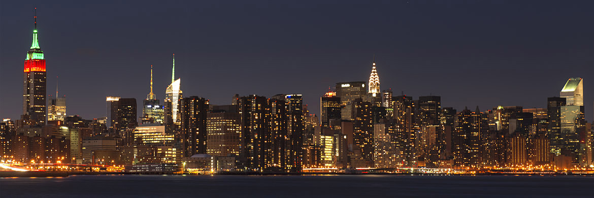 Photograph of Manhattan Skyline 3