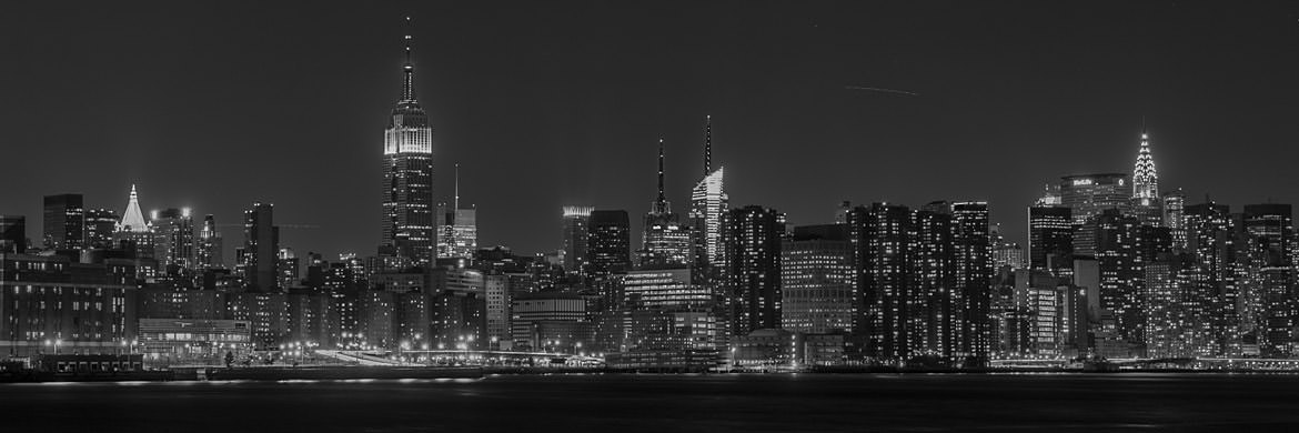 Photograph of Manhattan Skyline 4
