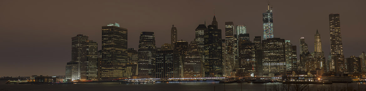 Photograph of Manhattan Skyline 5