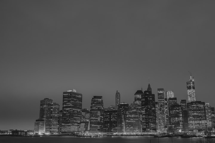 Photograph of Manhattan Skyline 6