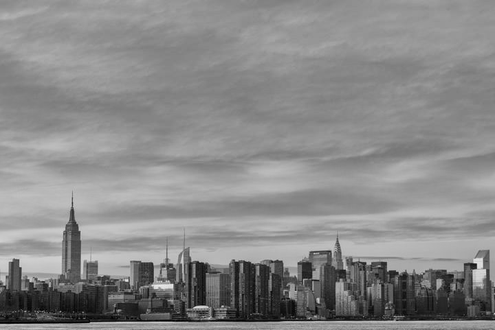 Photograph of Manhattan Skyline 7