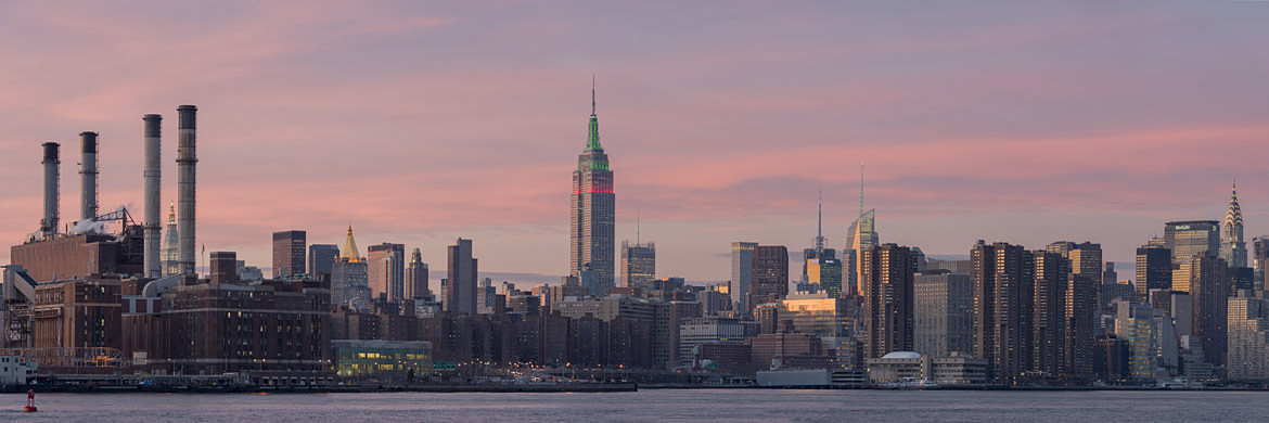 Photograph of Manhattan Skyline 8