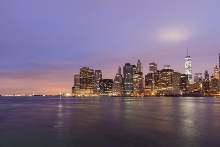 Photograph of Manhattan from Brooklyn 10