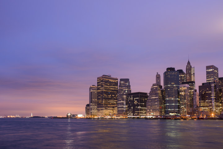 Photograph of Manhattan from Brooklyn 11