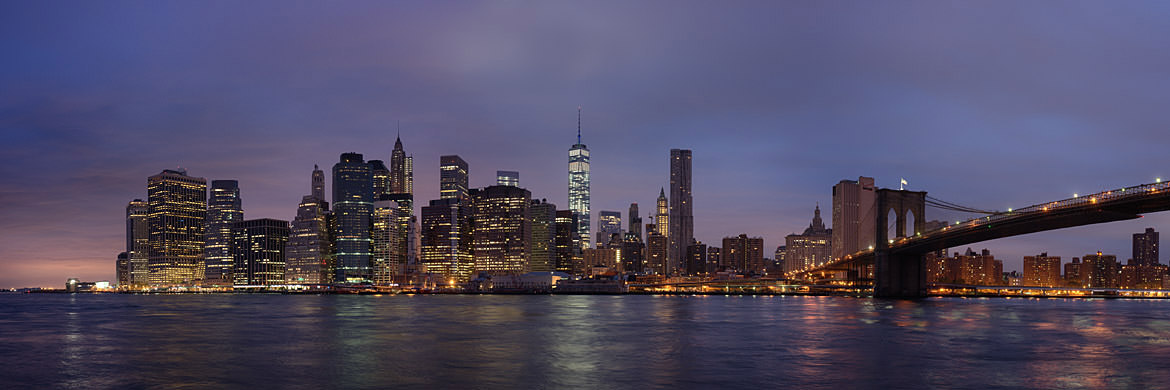 Photograph of Manhattan from Brooklyn 13