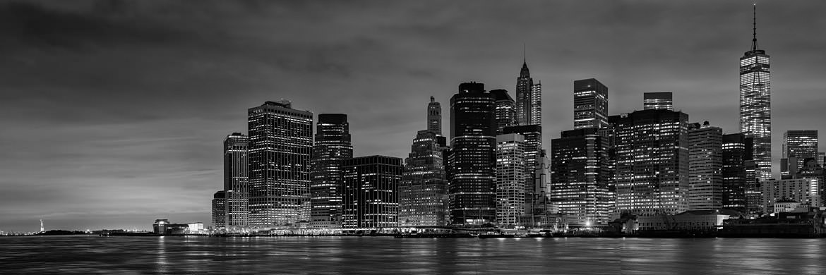Photograph of Manhattan from Brooklyn 6