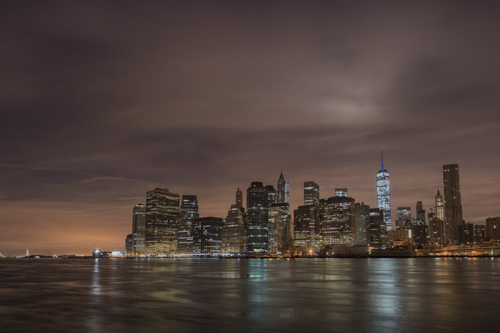 Photograph of Manhattan from Brooklyn 7