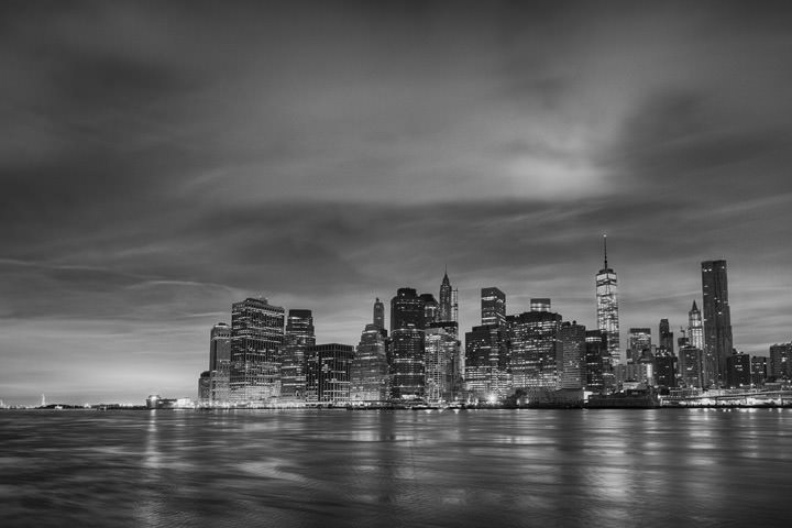 Photograph of Manhattan from Brooklyn 8