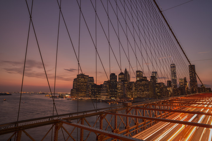 Manhattan from Brooklyn Bridge 4