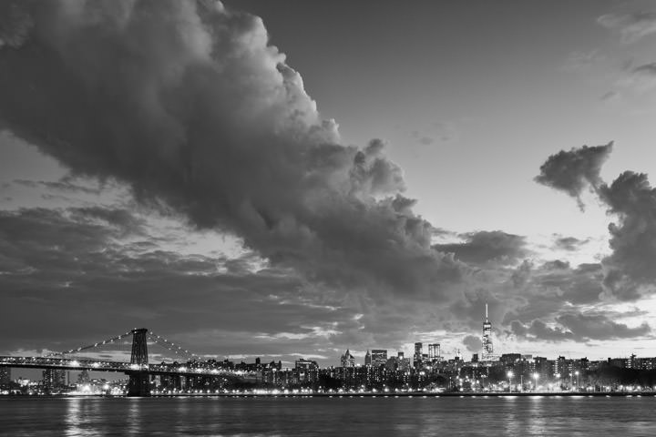 Photograph of Manhattan from Williamsburg 5