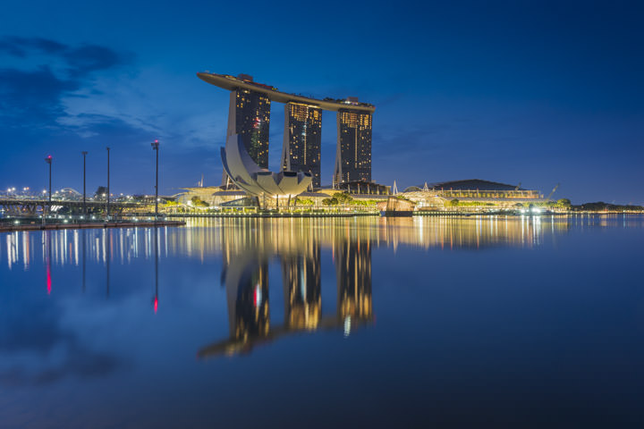 Photograph of Marina Bay Singapore 2