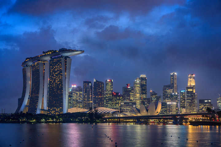 Photograph of Marina Bay Singapore 3