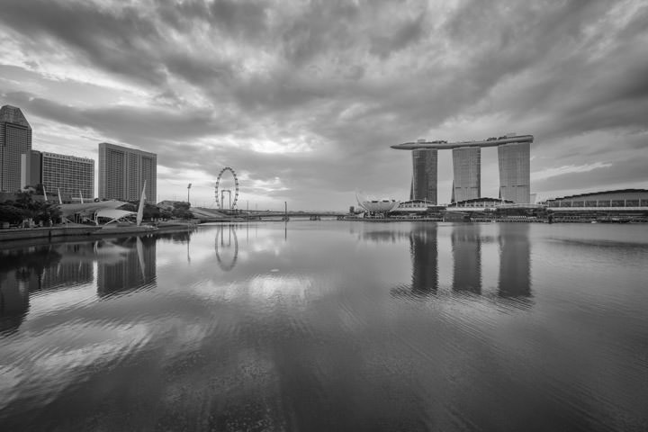 Photograph of Marina Bay Singapore 4