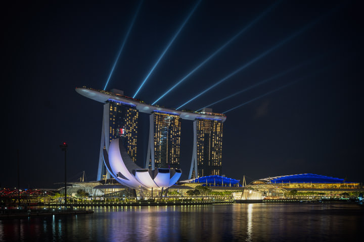 Photograph of Marina Bay Singapore