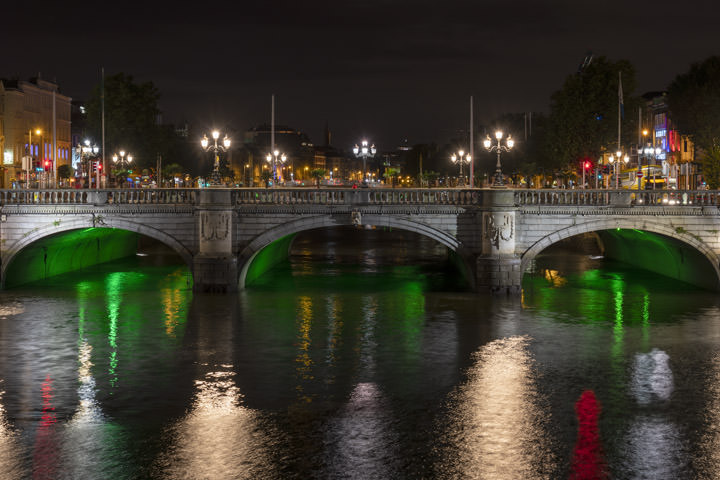 Photograph of Mellows Bridge Dublin