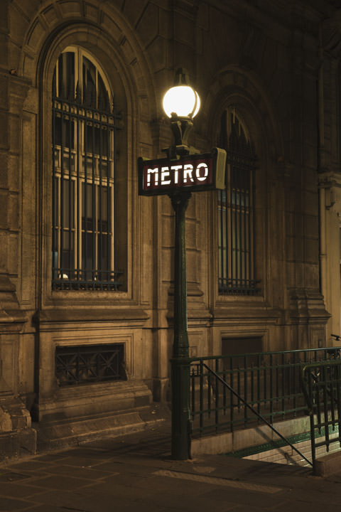 Photograph of Metro Paris