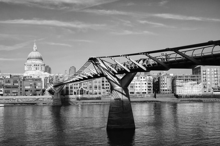 Photograph of Millennium Bridge 1