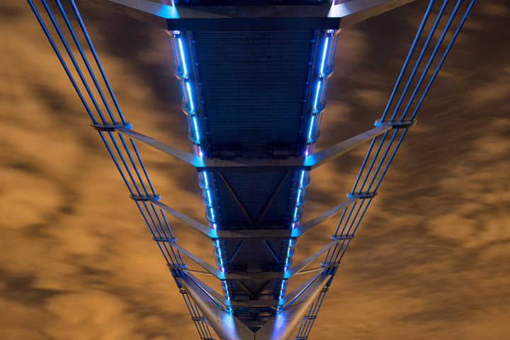 Photograph of Millennium Bridge 12
