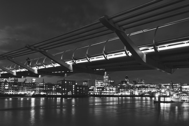 Photograph of Millennium Bridge 3