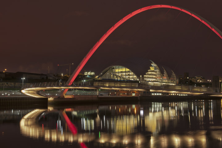 Photograph of Millennium Bridge