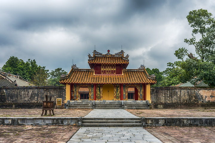 Photograph of Minh Mang Tomb 1