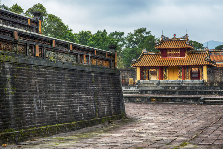 Photograph of Minh Mang Tomb 2
