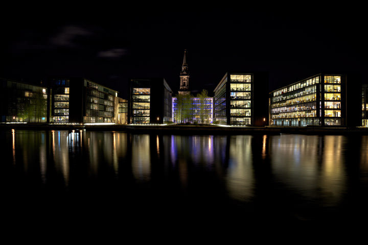 Photograph of Modern Architecture Copenhagen