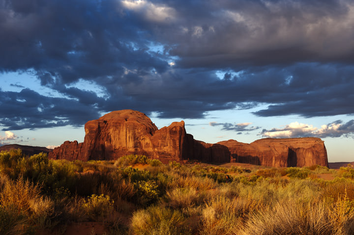 Photograph of Monument Valley 1