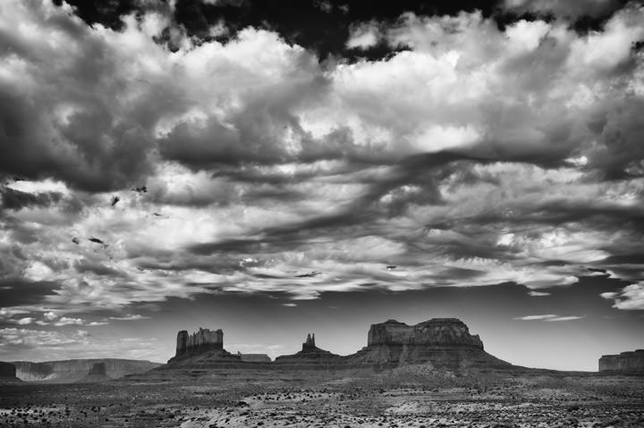 Photograph of Monument Valley