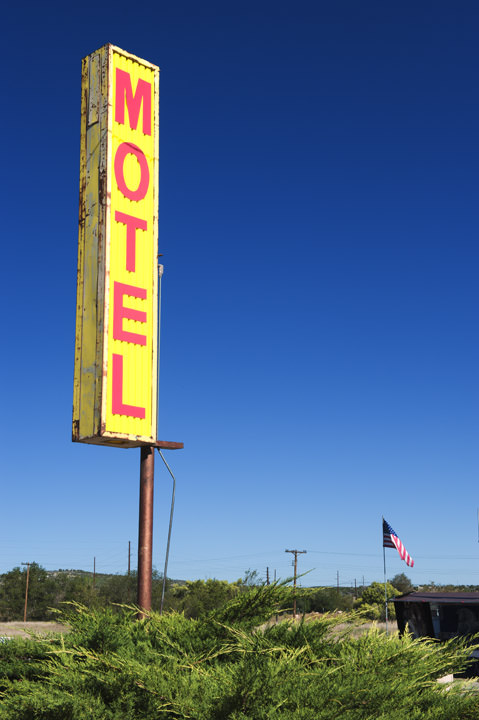 Motel Sign -  Route 66 Seligman - Arizona