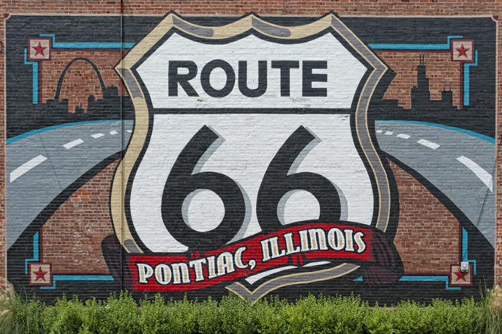 Photograph of Mural - Route 66