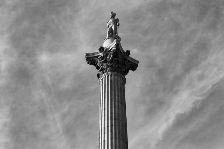 Photograph of Nelsons Column 10