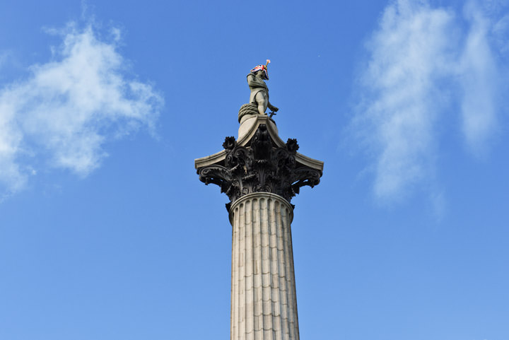 Photograph of Nelsons Column 11