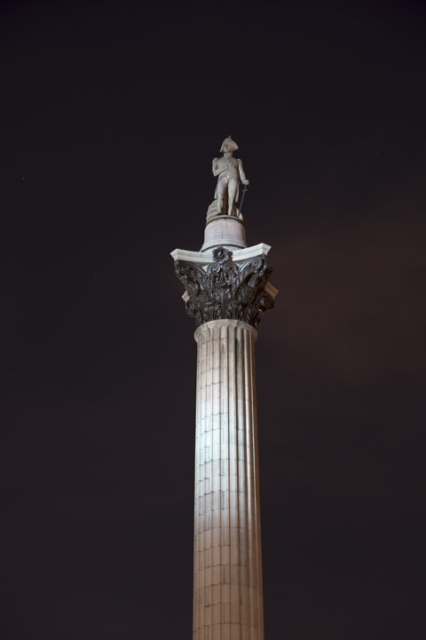 Photograph of Nelsons Column 14