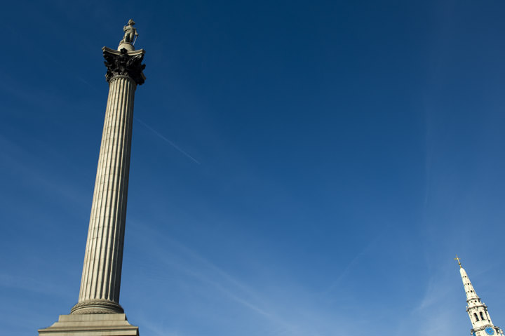 Photograph of Nelsons Column 2