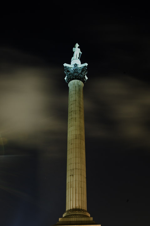 Photograph of Nelsons Column 4