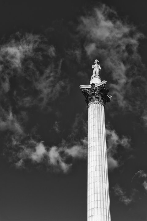 Photograph of Nelsons Column 7