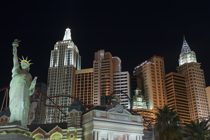 Photograph of New York in Las Vegas