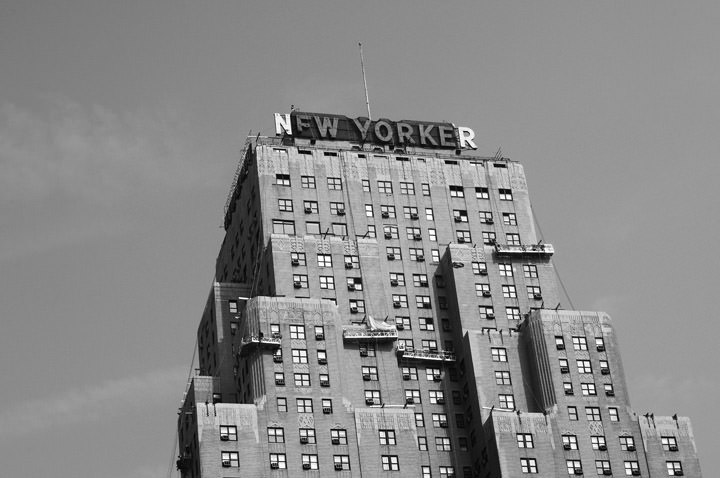 Photograph of New Yorker 1